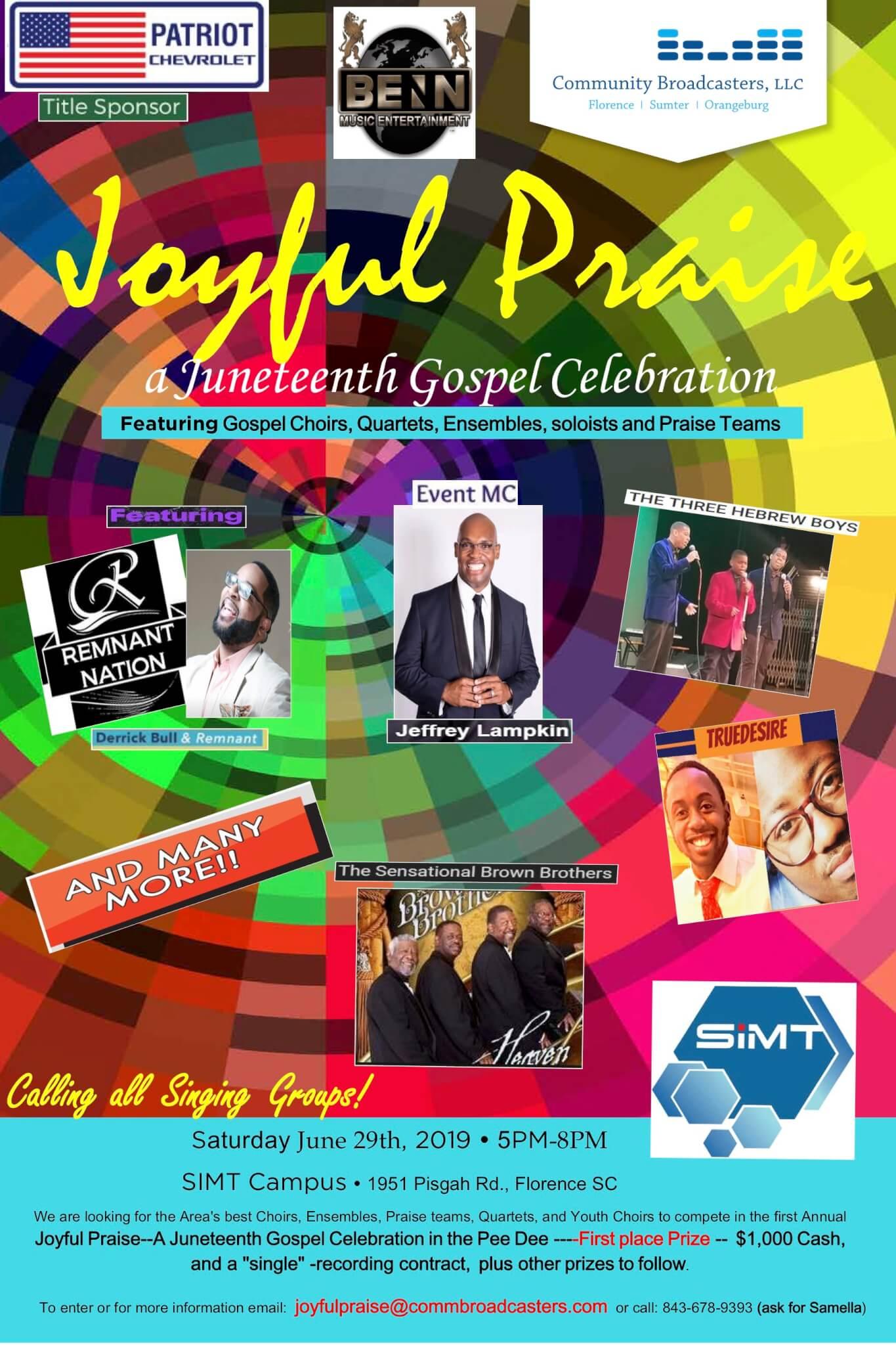 Joyful Praise Flyer 6-20-19-